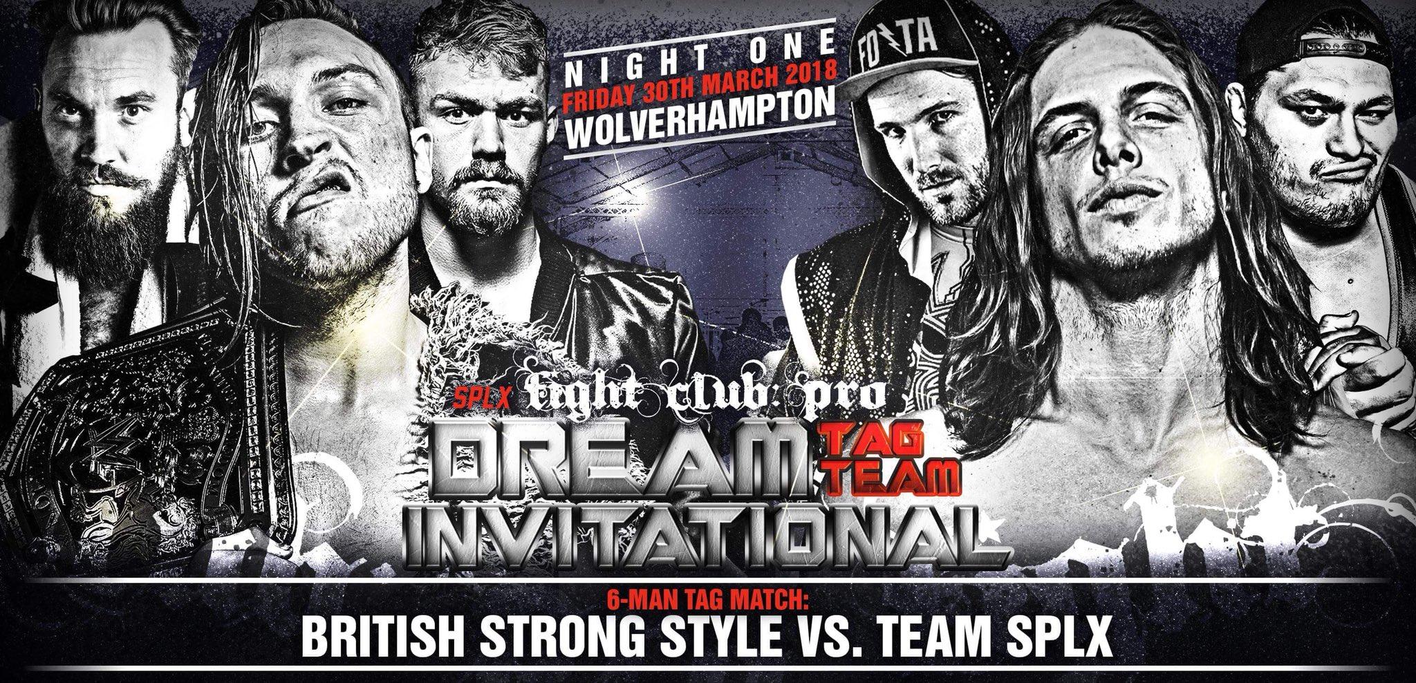 Brutal lucha para el próximo Dream Tag Team Invitational 1