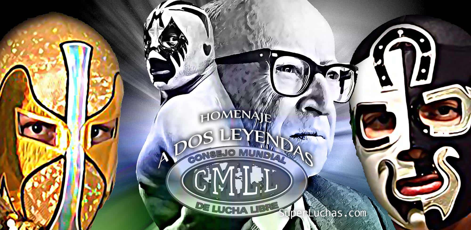 Resultados Homenaje a Dos Leyendas: Ángel de Oro vs. Cuatrero 1
