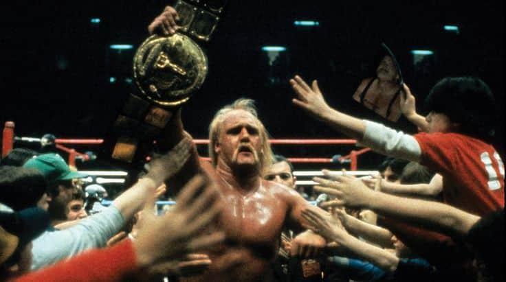 Hulk Hogan entrando al ring en WWF WrestleMania III / WWE©