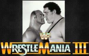 Hulk Hogan vs. André el Gigante en WWF WrestleMania III / WWE©