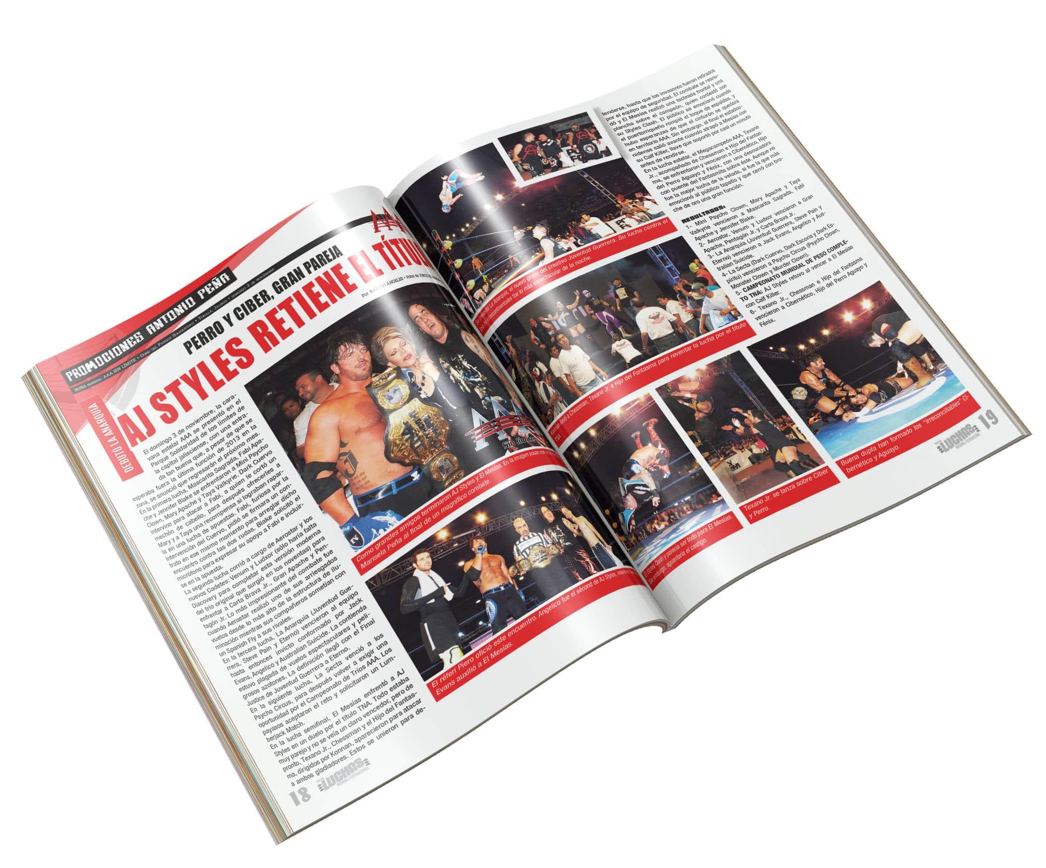 Entrevista: El Mesías habla de AAA, TNA, WWE, Vampiro y mucho más 2