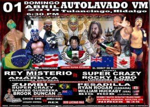 Super Crazy presentará shows en Tulacingo y Pachuca 11