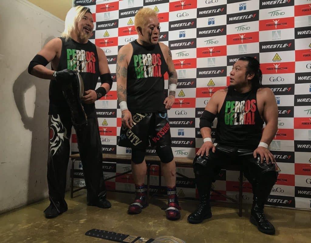 Tokyo Gurentai recuerda a Hijo del Perro Aguayo 3