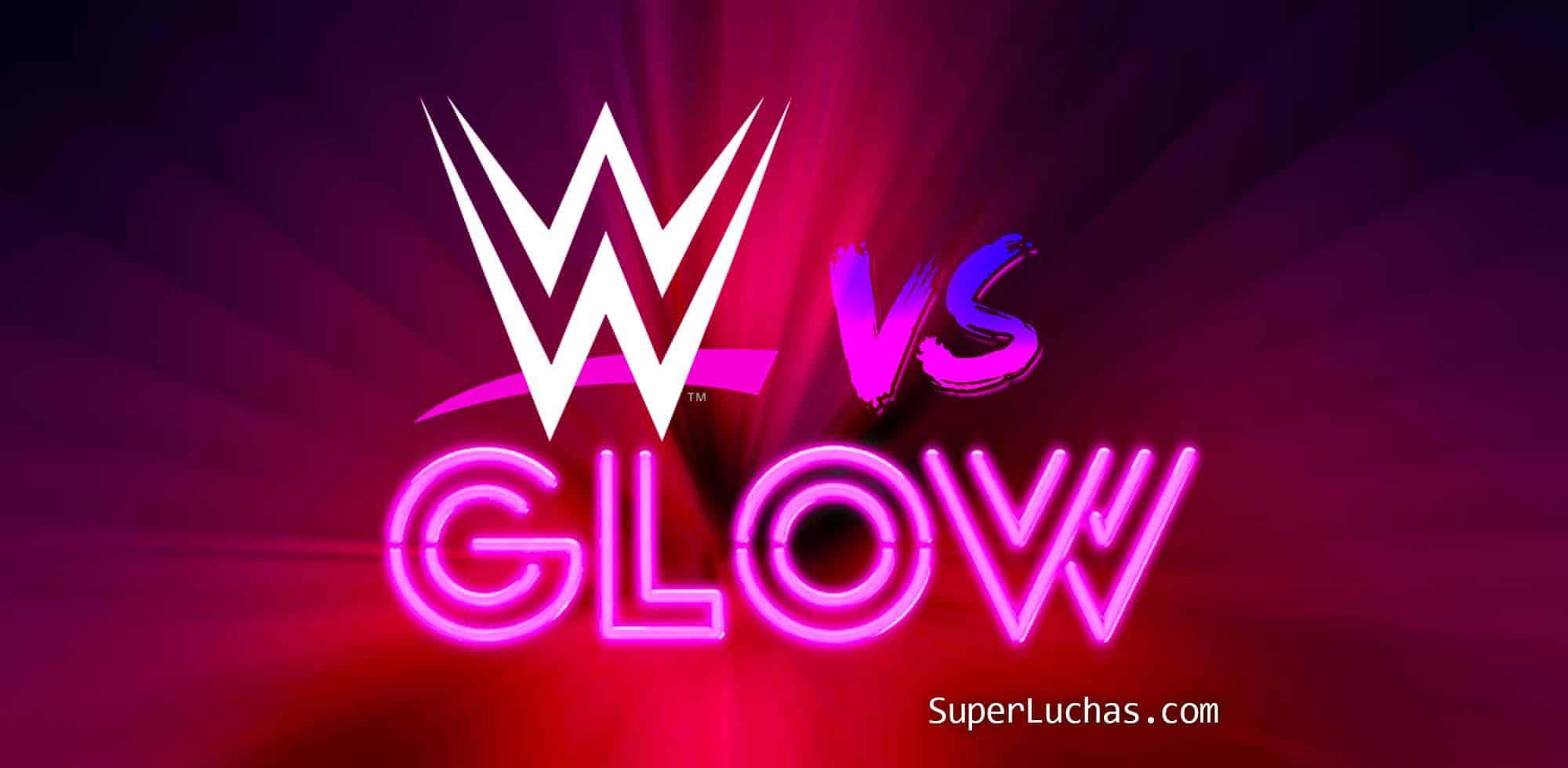 """Se avecina guerra femenil WWE vs. GLOW en """"Drop the Mic"""" 1"""