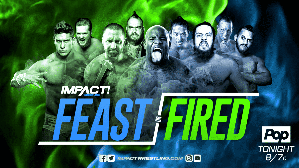 Resultados Impact Wrestling (15-mar.-2018) — Feast or Fired 1