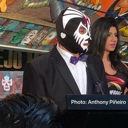 VIDEO: LUCHA VLOG #9 Homenaje a Dos Leyendas Mil Mascaras y Salvador Luterroth 5