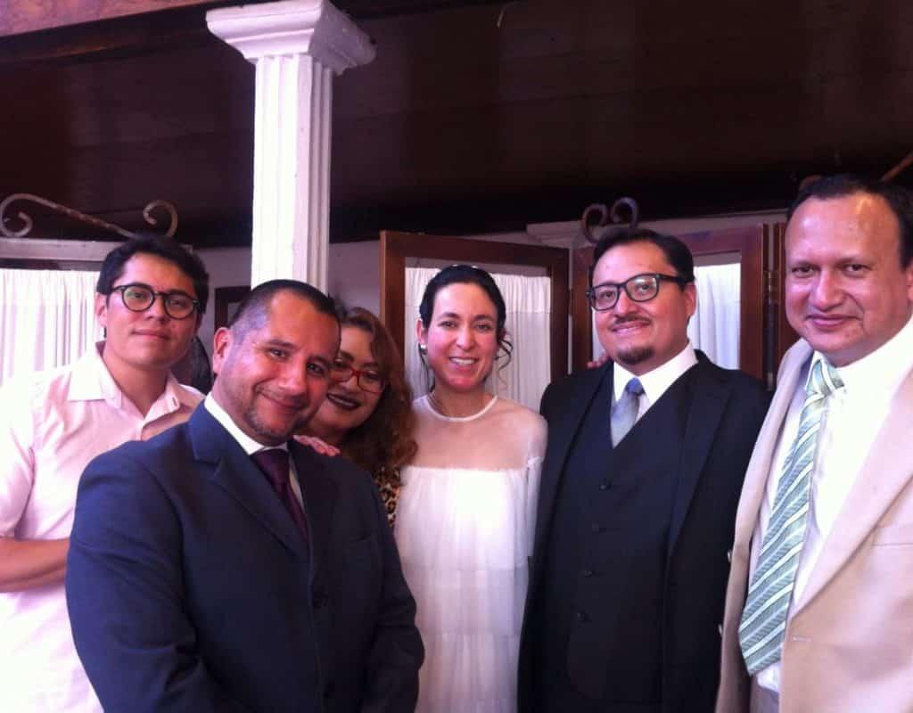¡Felicidades a nuestro Editor en Jefe, Ernesto Ocampo por su boda! 2
