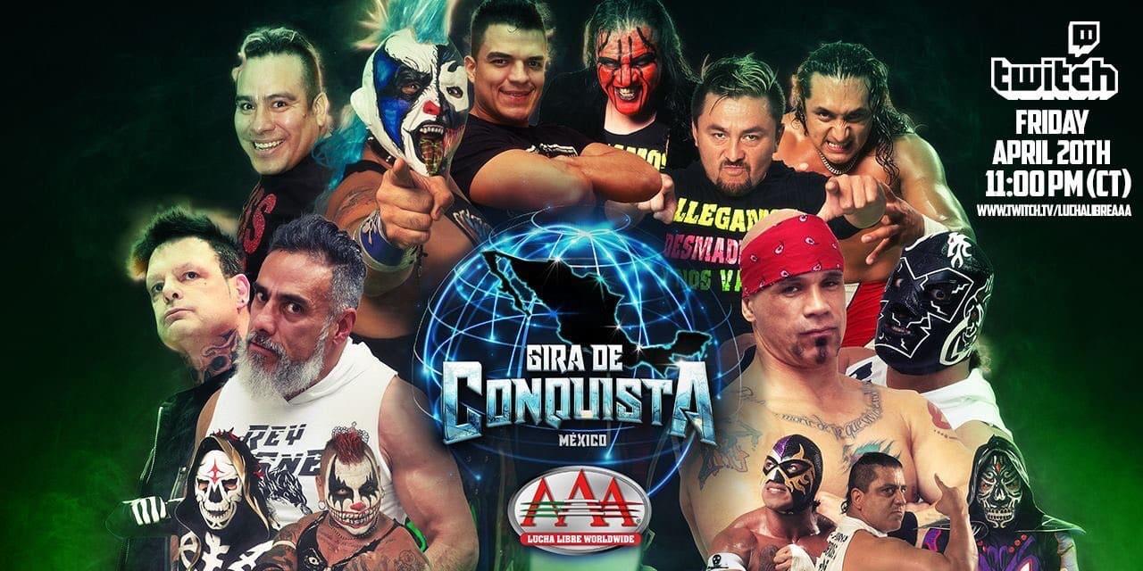 AAA: Gira de Conquista en Tijuana sufre una invasión 2