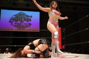"""Me gustaría ser una gran luchadora como mi mamá"": Natsumi 14"