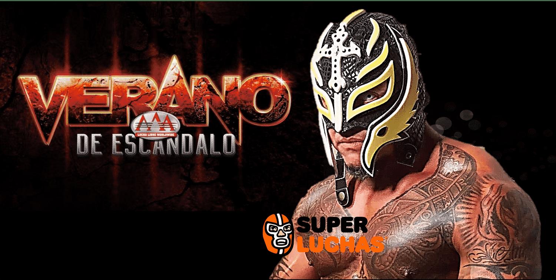 Rey Mysterio Jr. en Verano de Escándalo 25