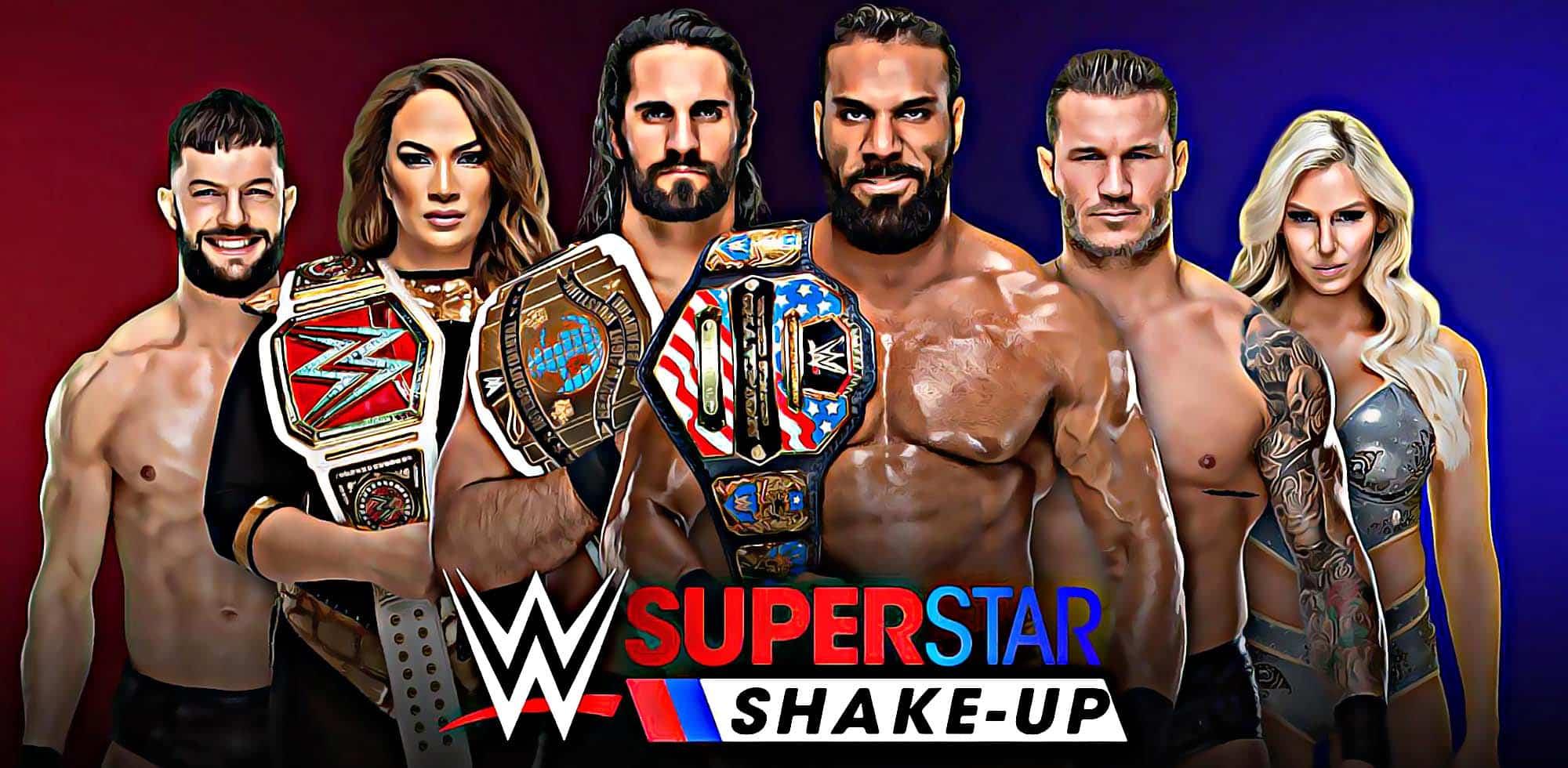 gran espectáculo Dean Ambrose The Mojo Rawley Nueva marca WWE ganó figura AJ Styles