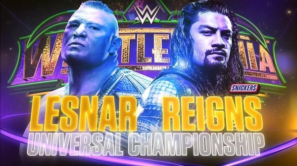 Resultados WrestleMania 34 — Brock Lesnar vs. Roman Reigns 82