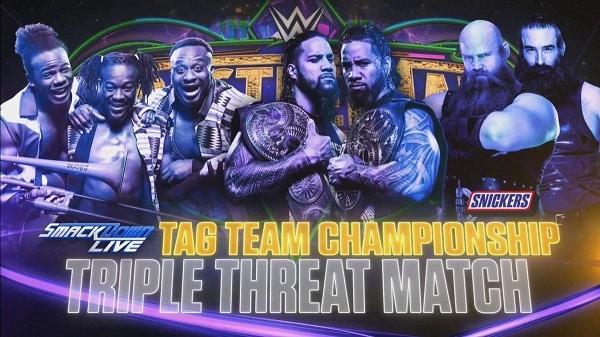 Resultados WrestleMania 34 — Brock Lesnar vs. Roman Reigns 35