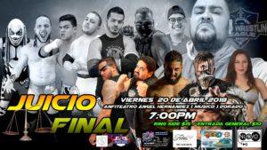 "WWL: Cartelera Final para JUICIO FINAL ""Donde Todos Seran Juzgados"" 13"