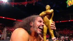 """""""WOKEN"""" Matt Hardy gana la batalla campal en memoria de André el Gigante en WWE WrestleMania 34 (08/04/2017) / WWE©"""
