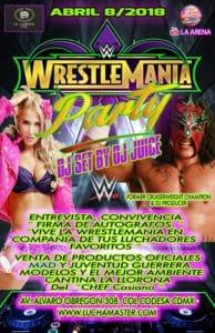 WrestleMania Juventud Guerrera Condesa