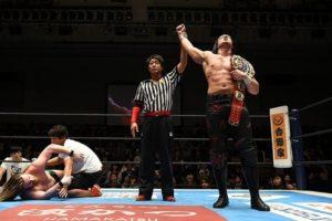 "NJPW:""Road to Wrestling Dontaku"" Jay White defiende su cinturón 15"