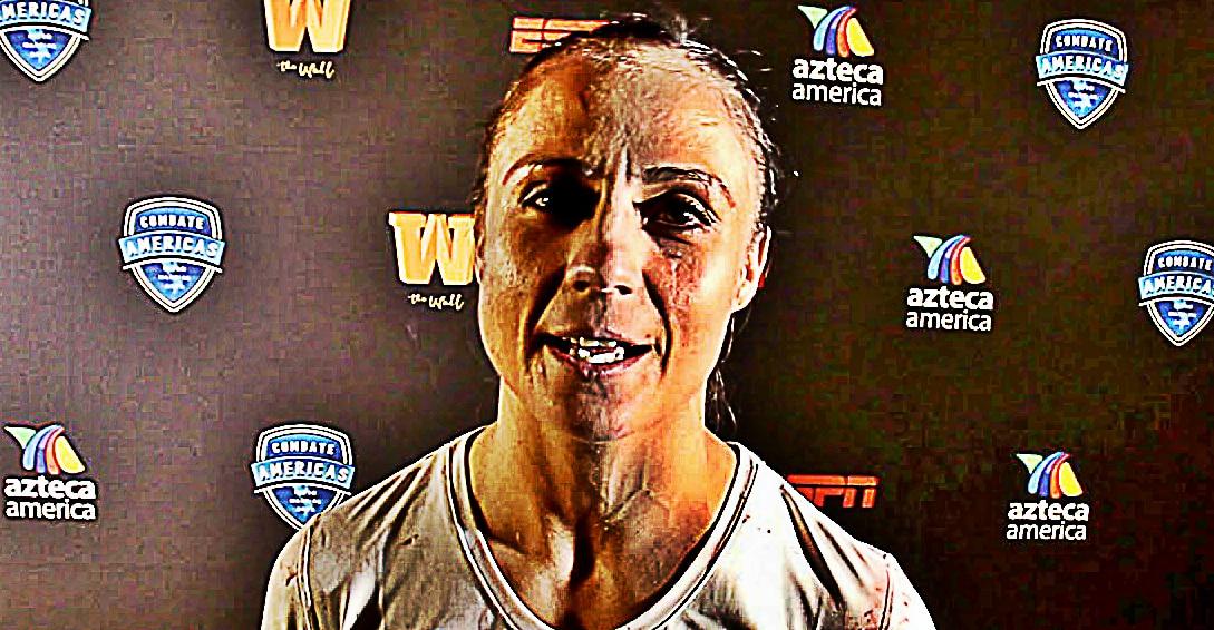 """Combate Américas (11-05-18)- """"Combate Américas: México vs. USA"""" Lisbeth """"Coneja"""" López Silvavs Brenda Enríquez 3"""