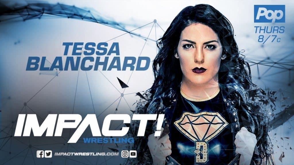 Impact Wrestling firma a Tessa Blanchard a contrato multianual 1
