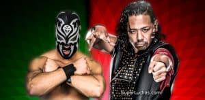"La Sombra / Andrade ""Cien"" Almas / Shinsuke Nakamura / CMLL© / WWE© / SuperLuchas.com / SÚPER LUCHAS"