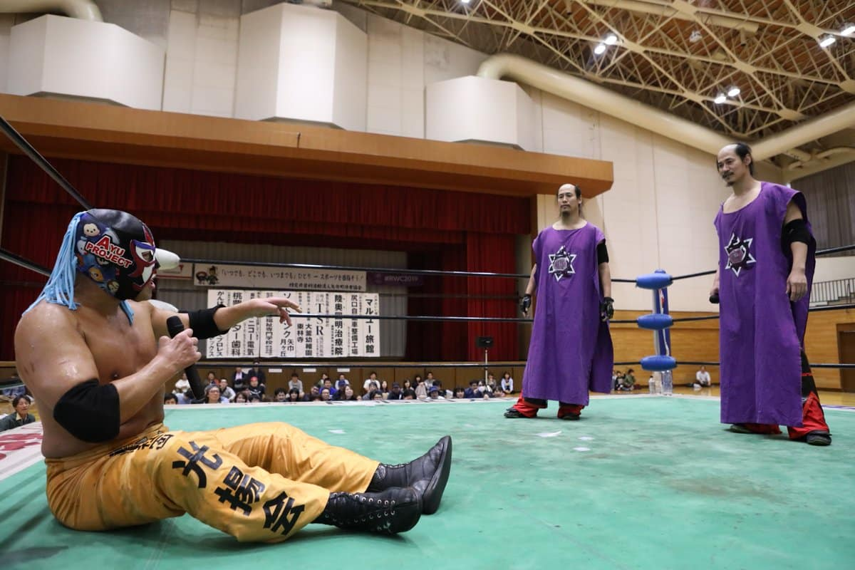 "Michinoku Pro:""Golden Week Series"" Great Sasuke rompe con los Brahman 39"