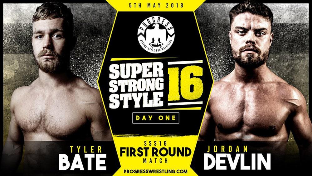 Resultados de PROGRESS Super Strong Style 16 2018 Día 1 6