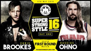 Resultados de PROGRESS Super Strong Style 16 2018 Día 1 3