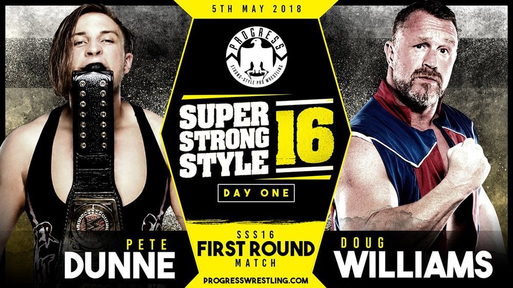 Resultados de PROGRESS Super Strong Style 16 2018 Día 1 2