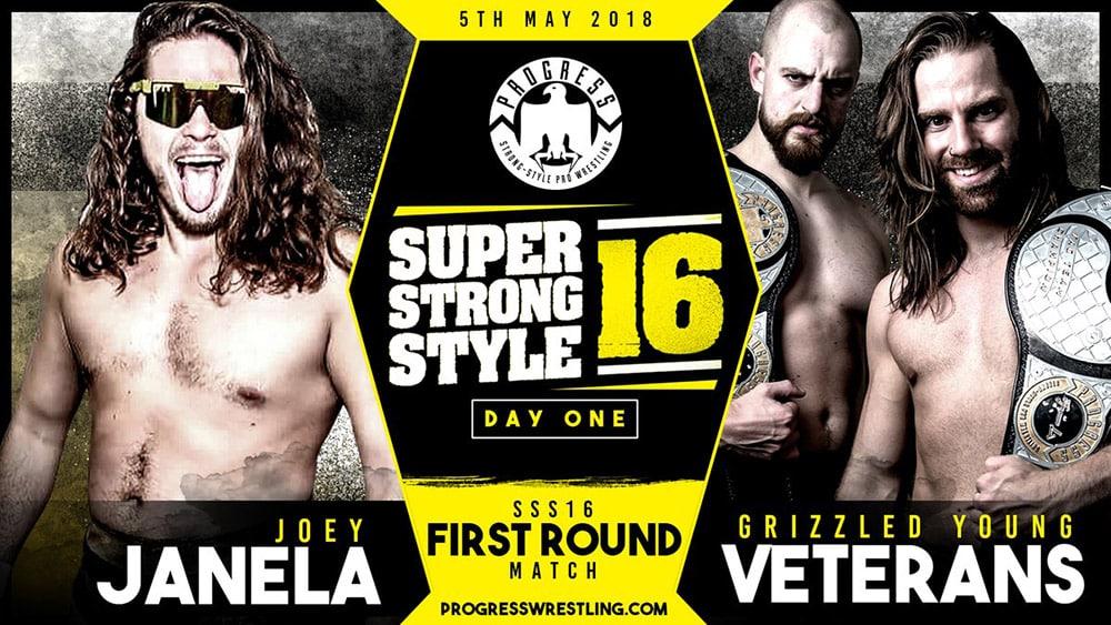 Resultados de PROGRESS Super Strong Style 16 2018 Día 1 7