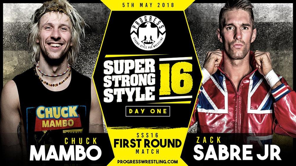 Resultados de PROGRESS Super Strong Style 16 2018 Día 1 3