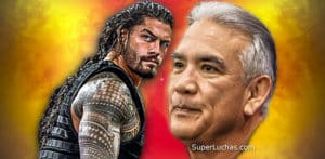 "Roman Reigns / Ricky ""The Dragon"" Steamboat / WWE© / SuperLuchas.com / SÚPER LUCHAS"