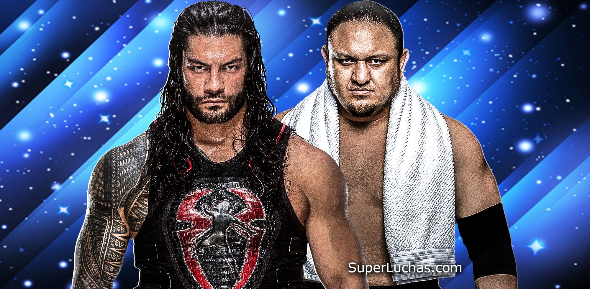 Roman Reigns / Samoa Joe / WWE© / SuperLuchas.com / SÚPER LUCHAS