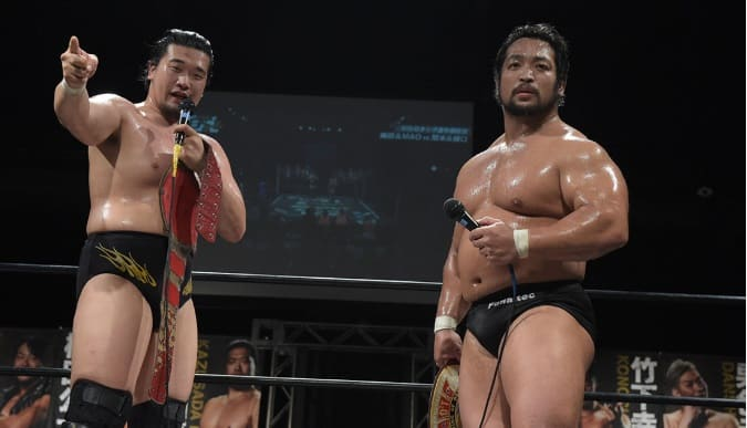 "DDT:""Live! Maji Manji 3"" Sekimoto y Higuchi retienen cinturón 22"