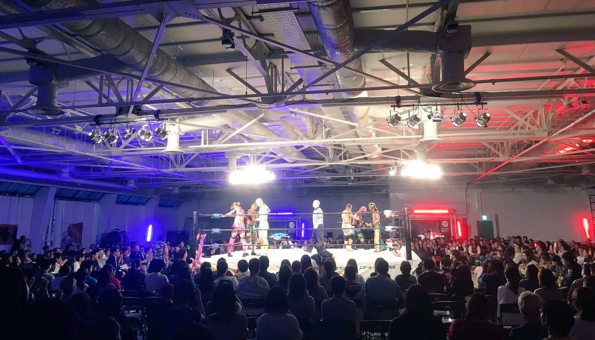 "Dragon Gate:""King of Gate 2018"" Día 4 1"