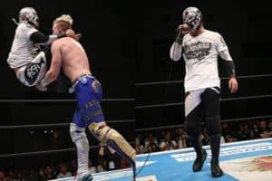 "NJPW:""Best of the Super Jr. 25"" Flip Gordon empata en liderato 23"