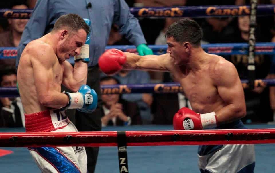 José Paz derrota con autoridad a Omar Chávez 1