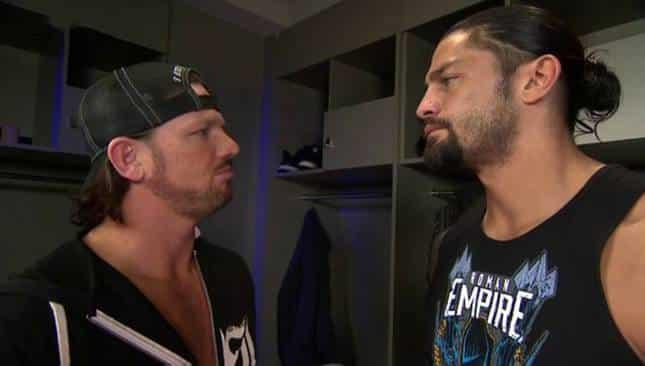 AJ Styles vs. Roman Reigns: ¿quién vende más mercancía? 2