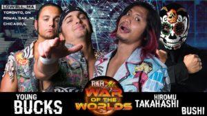 "ROH/NJPW:""War of the Worlds 2018"" Día 1 Dalton Castle lesionado 11"