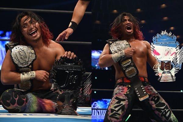 """NJPW: """"Dominion 6.9"""" Omega somete a Okada, Jericho monarca intercontinental 9"""
