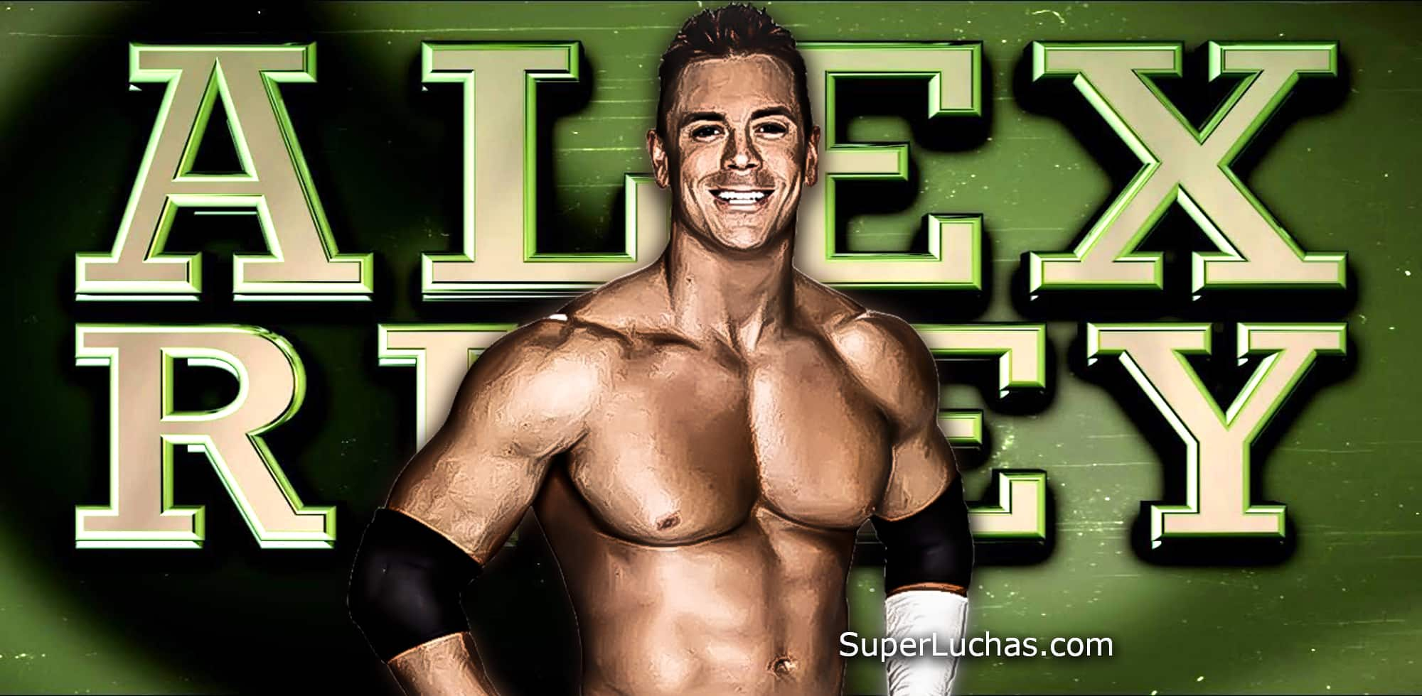 Alex Riley / WWE© / SuperLuchas.com / SÚPER LUCHAS