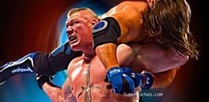 Brock Lesnar vs AJ Styles
