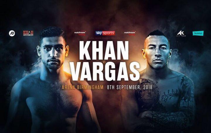 Amir Khan se enfrentará a Vargas para el 8 de septiembre 7