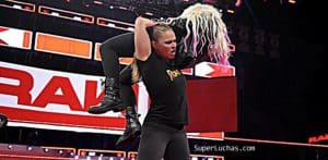 Ronda Rousey Alexa Bliss