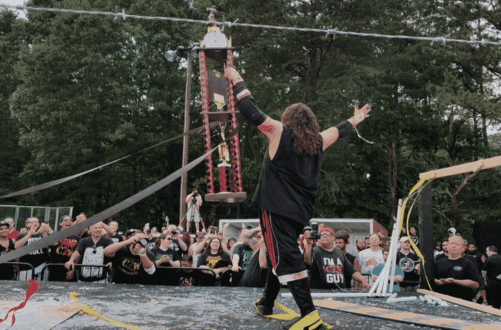 """CZW: """"Tournament of Death 17"""" Jimmy Lyod is the winner 1"""