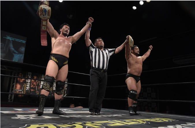 "DDT:""Live! Maji Manji 7"" Higuchi y Sekimoto retienen cetro de Parejas 6"