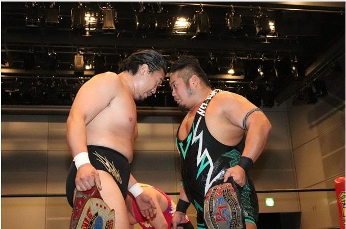 """DDT:""""Road to Ryogoku"""" El Campeonato Iron Man Heavy Metal en juego 1"""