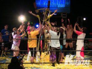 "K-DOJO:""Grand Slam in Blue Field"" el adiós de Daigoro Kashiwa 7"