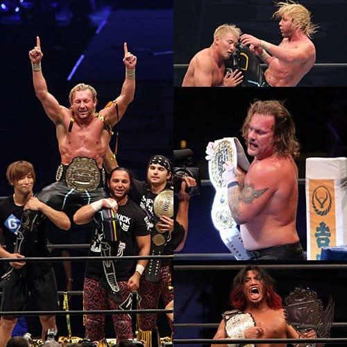 """NJPW: """"Dominion 6.9"""" Omega somete a Okada, Jericho monarca intercontinental 12"""