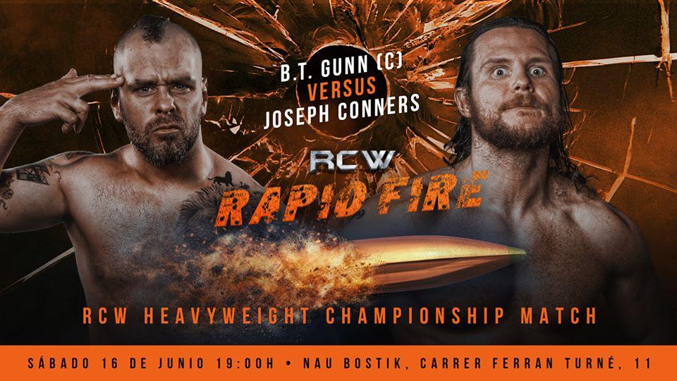 """RCW presenta """"Rapid Fire"""" con lo mejor de la lucha internacional 3"""