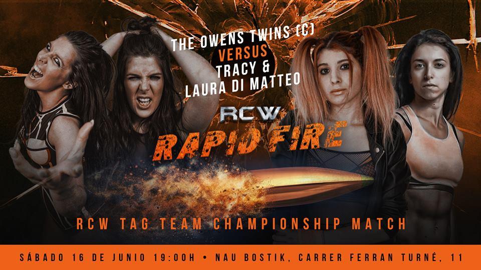 """RCW presenta """"Rapid Fire"""" con lo mejor de la lucha internacional 6"""